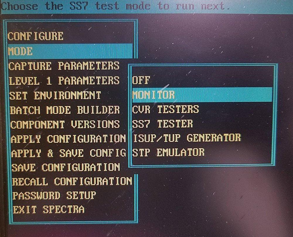 Inet Spectra Portable Multi-protocol Analyzer 4-link with SS7