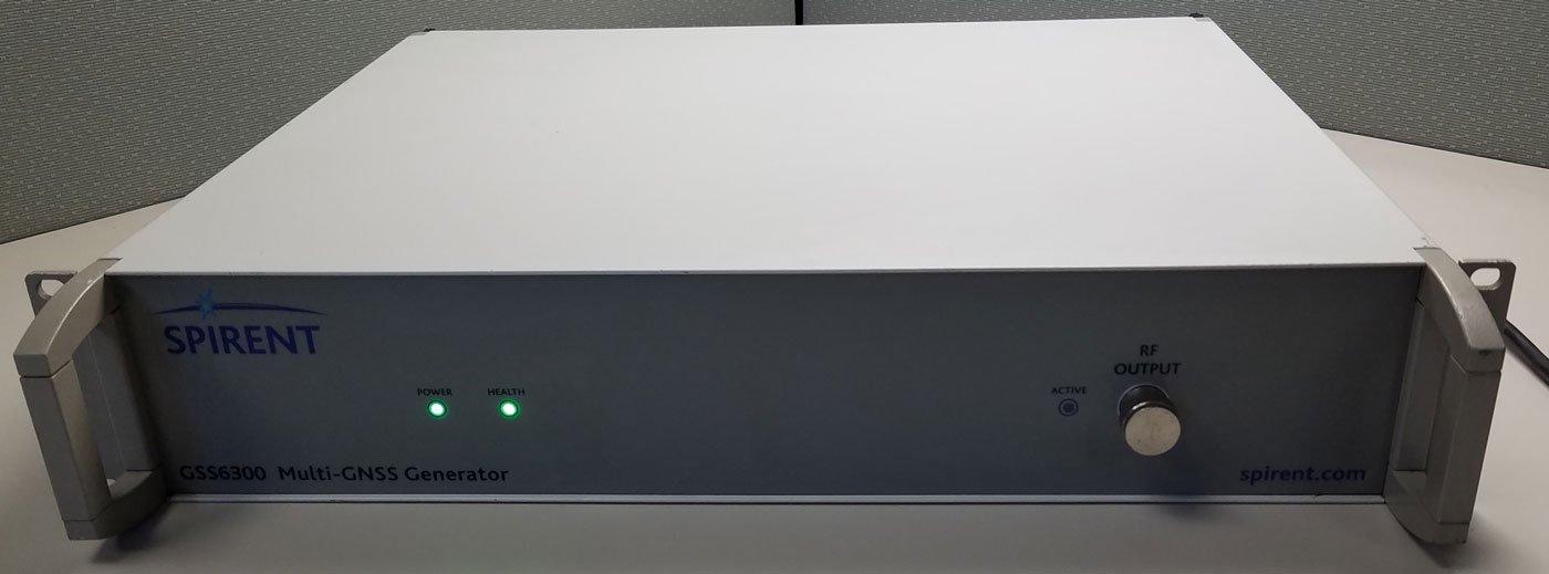 Spirent GSS6300 GPS/SBAS Muti-GNSS Signal Generator